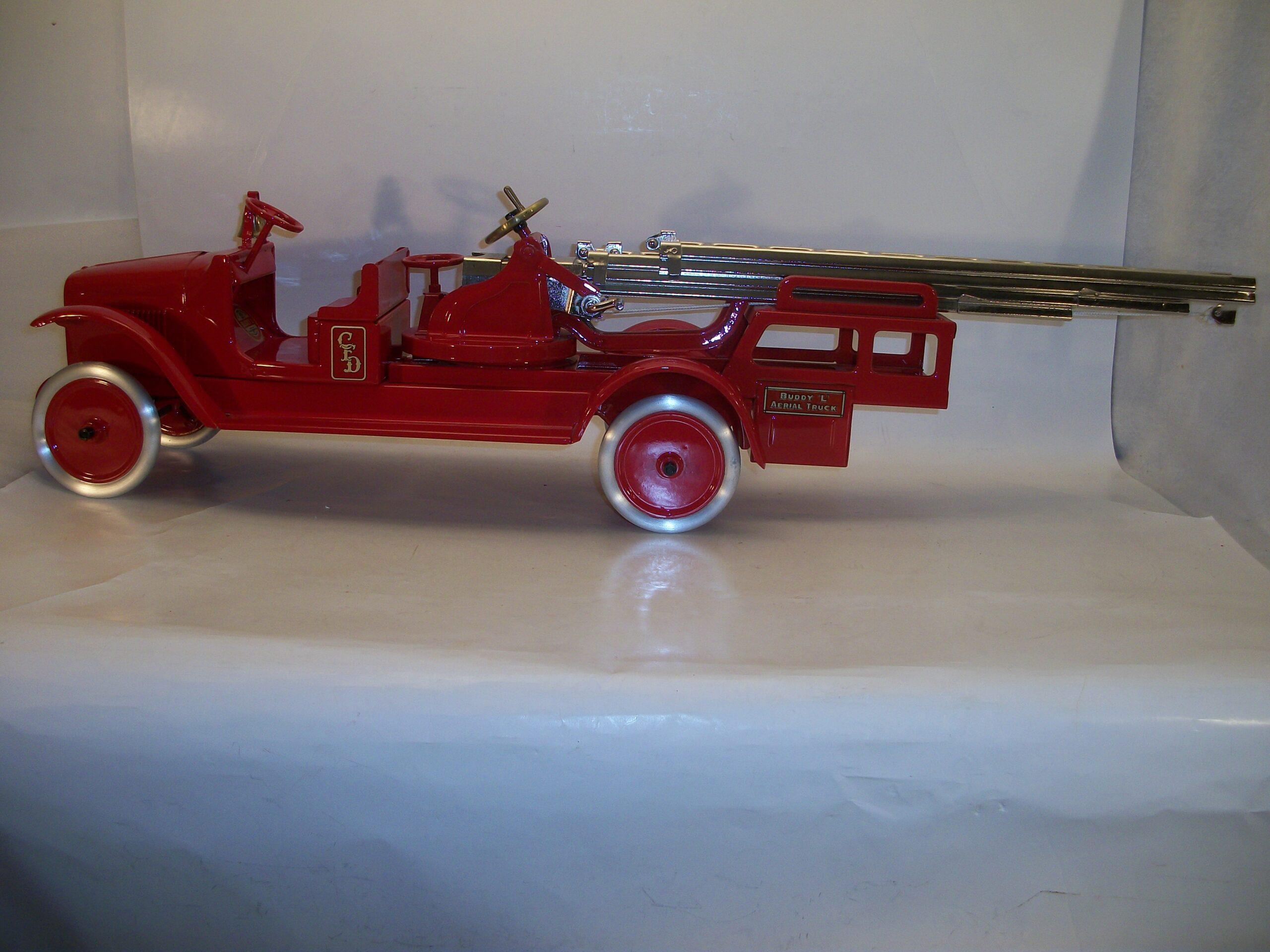 Buddy L Aerial Ladder Fire Truck Replacement Sticker Set BL-204
