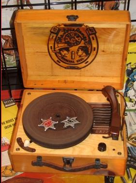 Decca Lone Ranger Record Player