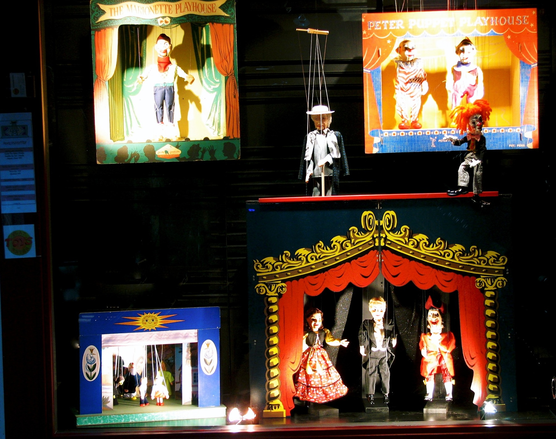 Marionette Display April 2011